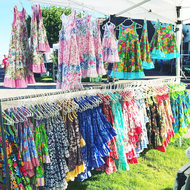 Seabury-Hall-Craft-Fair-Girls-Hawaiian-Dress-by-Baby-Blue-by-Cool-Blue-Maui-my-colorful-booth